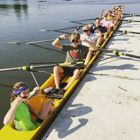 Summer Rowing Camp For Middle School High School Students
